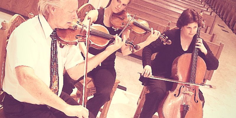 VMC String Trio: Ryann & Coulter's Wedding!